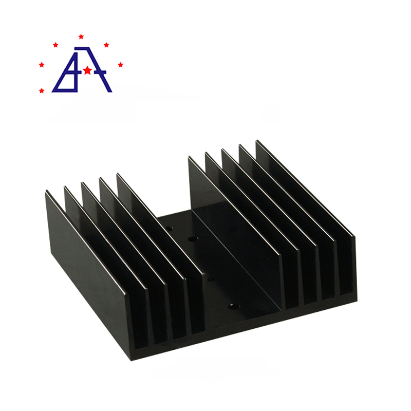Aluminium Extruded Oil Filter Heat Sink/Aluminium Extruded Oil Filter Cooler