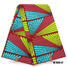 Popular style african ankara wax print cotton fabrics with high quality in 2017