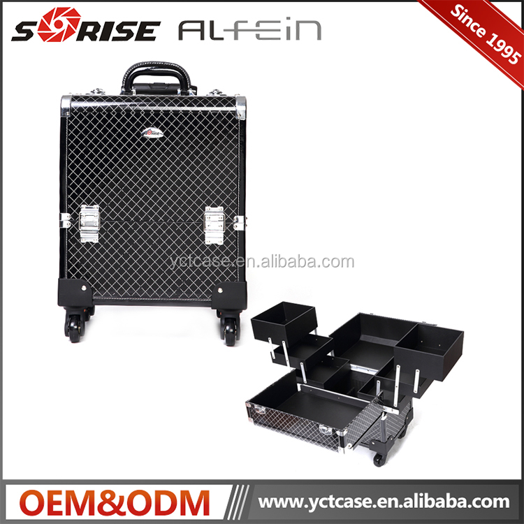 OEM warmly welcomed wholesale makeup train cases cosmetic bag cheap cases