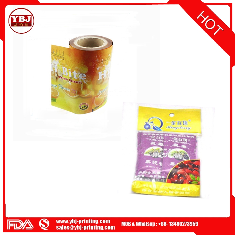 Fruit pattern jam bag liquid packaging special composite PE PET film