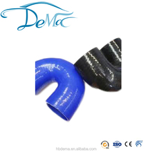 high performance 180 degree elbow bend rubber silicone hose