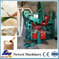 Auto combined parboiled rice mill machine/rice parboilling machine /mini flour mill plant