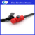 Camping equipment gear fire rod flint fire starter with survival whistle compass