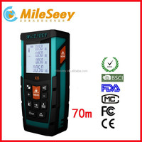 Mileseey X6 70m Outdoor Laser Ultrasonic Distance meter Precision Laser Distance Measurement
