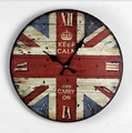 Home Decorative Antique Wooden Wall Clock
