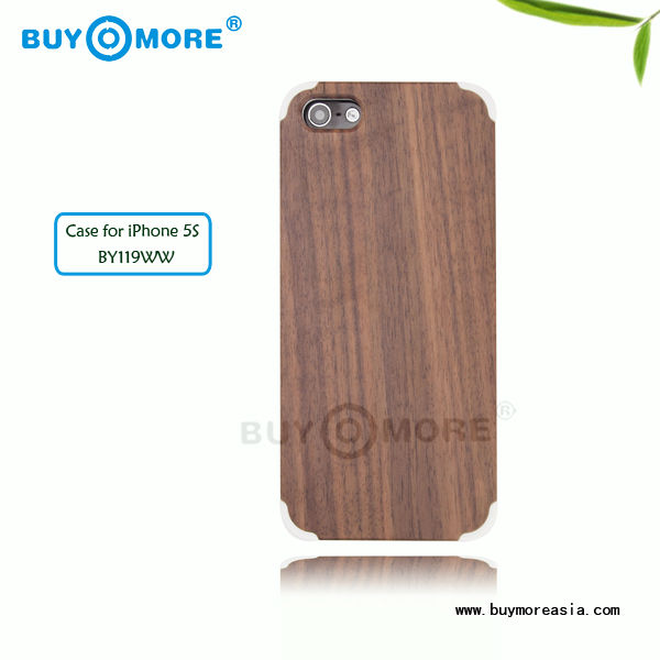New wood waterproof smartphone case for iphone 5S, Superior quality excellent designs