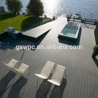 Eco-friendly reclaimed material wpc flooring plank
