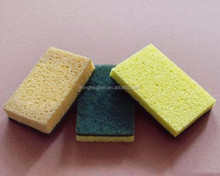 Compressed wet Cellulose Sponge for washing