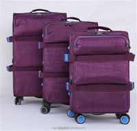 2016 Best sales laptop trolley bag trolley travelling bag suitcase