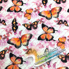 Widely used superior quality beautiful butterfly printed spandex poplin cotton fabric popeline of cotton