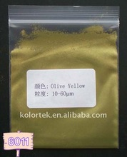 Olive Yellow Pearl Effect Pigment 6011