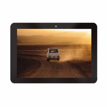 Android 4.4 3g commercial used android tablet with 10points capacitive touch internet connect via wifi rj45 and 3g4g slim card
