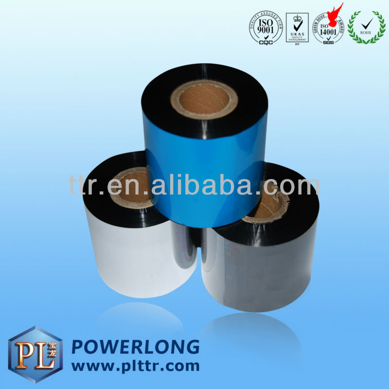 Thermal Transfer Ribbon TTR for Compatible Zebra Series Printer