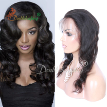Top Grade 8A Peruvian Virgin Human Hair Lace Closure Body Wave 360 Lace Frontal For Black Woman