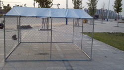 China Alibaba Chain Link Dog Kennel Enclosure with Roof
