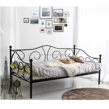 Modern Wrought Iron Metal Sofa Beds Day Bed