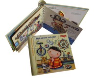 Professional Cardboard Pop Up Book Printing Service