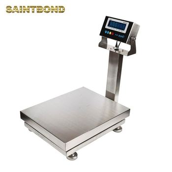 New product LED Scale for Industrial Compact Stainless steel waterproof bench scales