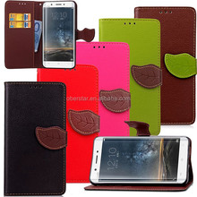 For Vivo Xplay5 phone cases, Leaf PU leather Case for For Vivo X play 5, For Vivo Xplay5 stand leather case