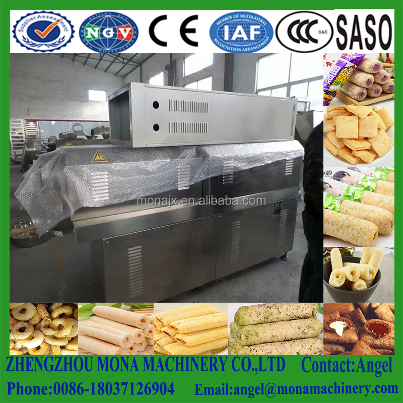 Extruder mixing factory moulding food processing machine