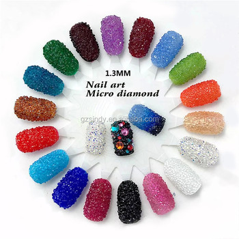 Micro pixie rhinestone 3D Nail 1.2mm Nail Rhinestones Decoration
