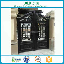 Exterior Remote Control House Steel Main Gate Designs
