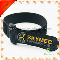 Nylon hook and loop watch bands strap