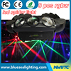 DJ bar 9pcs 10w rgbw 4in1 led spider beam moving head light