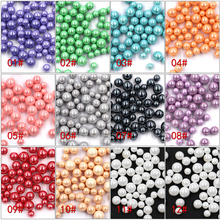 2017 New 3D Nail Pearl Design 11 Colors Nail Art 10000pcs 5000pcs 3000pcs Round Pearl Nail