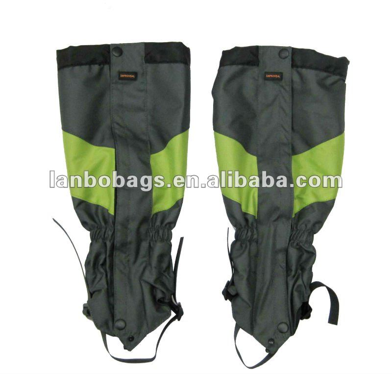 Hot selling waterproof leg gaiters with low price protective gaiter