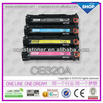CE320/1/2/3A color toner for hp cp1025 toner