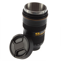 For Nikon Zoomable Zoom Lens 1:1 AF-S 24-70mm f/2.8 Coffee Camera Lens Cup