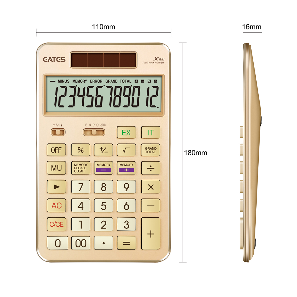 2019 Newest Design Promotional Gift Calculator OEM Boss Calculator