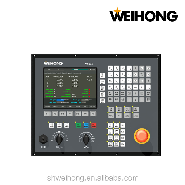 NK260 Ncstudio system CNC Controller for engraving machines and milling machines