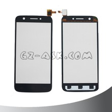 for prestigio multiphone duo pap5508 pap 5508 touch screen digitizer glass panel Black color cell phone