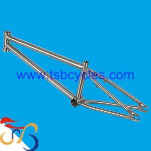 custom titanium BMX bike frame with high performanceTSB-BM1101
