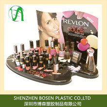 Vac Form display stand for cosmetic make up product