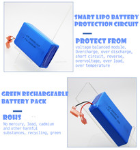 Rechargeable lithium polymer battery 3.7v 3500mah lipo battery 606090 for bluetooth touch keyboard