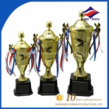Wholesale Gold Sports Metal Trophy Cup, Cheap Plastic Trophy, Souvenir Award Trophy