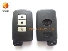 Replacement 3 button smart car key cover for Toyota key shell & auto key case