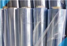 Factory PVC normal clear film non sticky for package/cover film