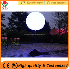 Factory Price Inflatable Advertising Balloon LED Light Balloon with Stand flashing led light up balloons