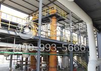 Distillation plant change black oil to yellow oil distillation machine
