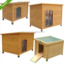 Big Sale Large Pet Dog Wood House Crate with Nature Color