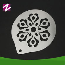 Decorating supplies beautiful embossing bakery use cappuccino decorating stencil