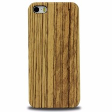 bulk buy pure wooden phone back cover for iPhone 5 SE cases
