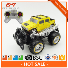 Hot selling 4channels cross country rc electric toy monster truck