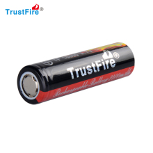 Rechargeable Li-ion 2400mAh 18650 battery for flashlight, machine