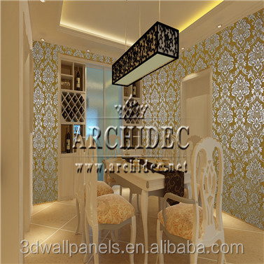 royal FSC 3d embossed 3d wall paper