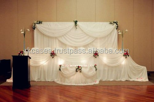 portable pipe and drapes decoration backdrop luxury drapes curtains